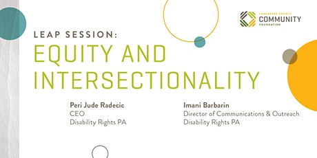 LEAP Session: EQUITY AND INTERSECTIONALITY tickets