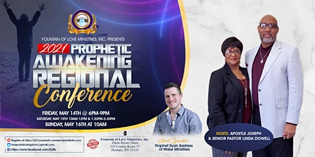 2021 Prophetic Awakening tickets
