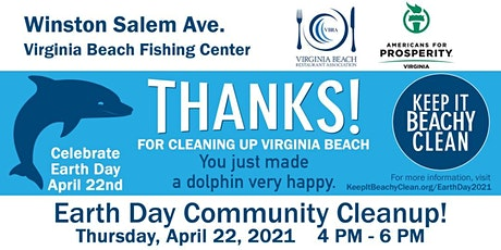 Keep it Beachy Clean Earth Day 2021 - Winston Salem/Virginia Beach Fishing tickets