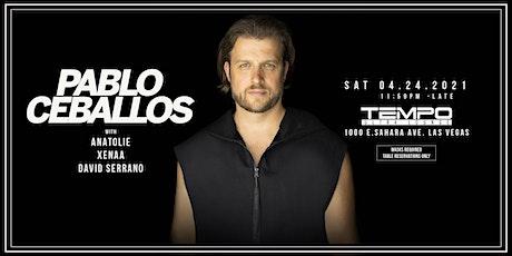 Tempo presents Pablo Ceballos tickets