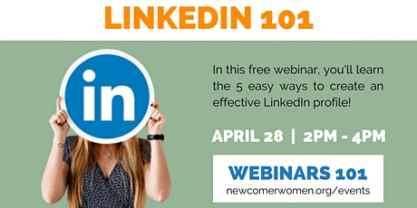 LinkedIn 101: How to create a LinkedIn profile and build your network tickets
