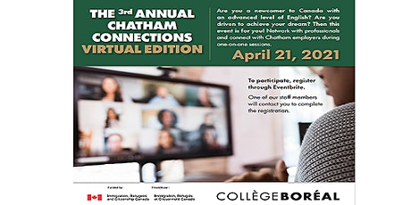 3rd annual Chatham Connections 2021. tickets
