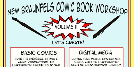 NB Comic book workshop: Digital Media tickets