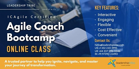 Agile Coach Bootcamp   Part Time - 220621 - Singapore tickets