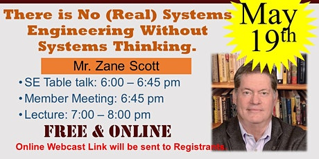 There is No (Real) Systems Engineering Without Systems Thinking tickets