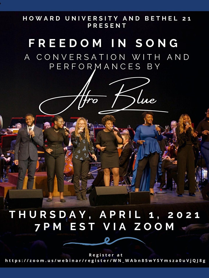 Freedom in Song: An Evening with Afro Blue (A Jazz Month Event) image