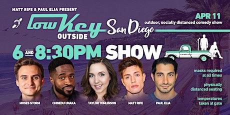 Lowkey Outside Comedy- San Diego 8pm tickets