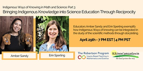 Indigenous Ways of Knowing Math and Science - Part 3 tickets