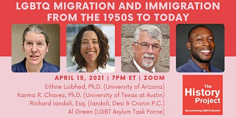 LGBTQ Migration and Immigration from the 1950s to Today tickets