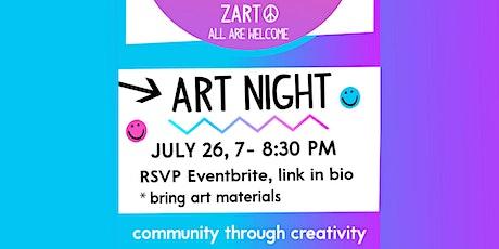 Art Night, July 26 tickets