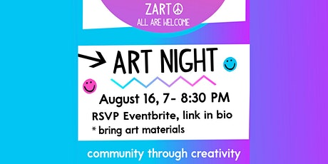 Art Night,  August 16 tickets
