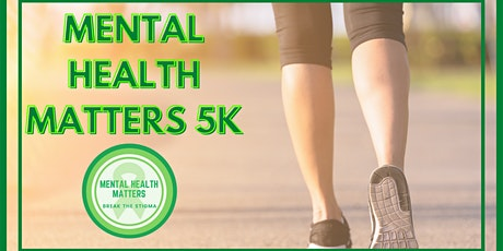 Mental Health Matters 5K Walk tickets