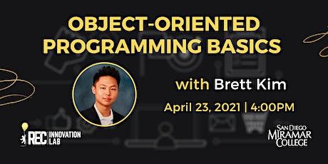 Object-Oriented Programming Basics for Entrepreneurs with Brett Kim tickets