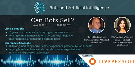 Can Bots Sell? Avoid These Pitfalls and Get Sales and Marketing Results tickets