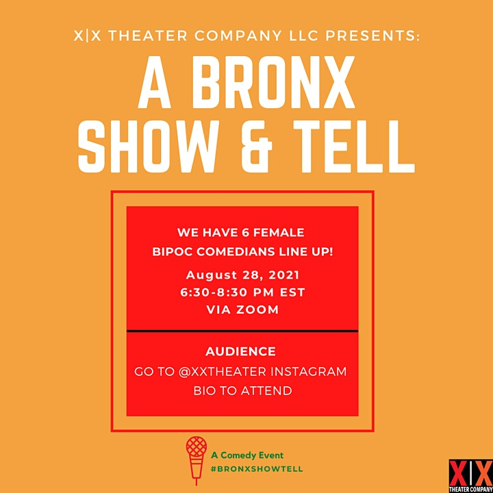 A Bronx Show & Tell: A Comedy Event image