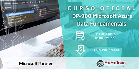 CURSO OFICIAL DP-900 MICROSOFT AZURE DATA FUNDAMENTALS boletos