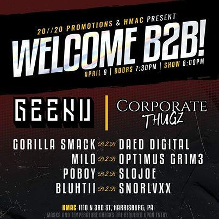 WELCOME B2B! in the Capitol Room image