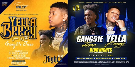Yella Beezy & Gang51E June at BLVD Nights tickets