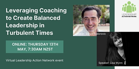 Leveraging Coaching to Create Balanced Leadership in Turbulent Times tickets
