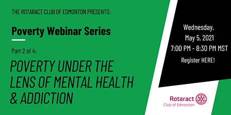 Poverty Under the Lens of Mental Health & Addiction tickets
