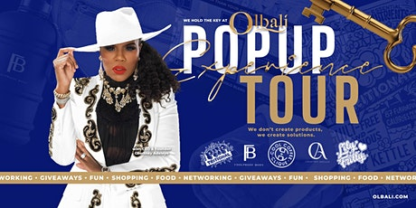 Olbali Popup Experience Tour tickets