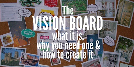 Parent/Carers Event - Create your Vision Board Workshop tickets