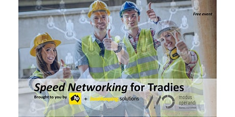Speed Networking for Tradies tickets