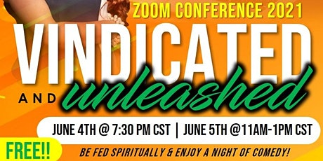 Vindicated & Unleashed  Conference 2021 tickets