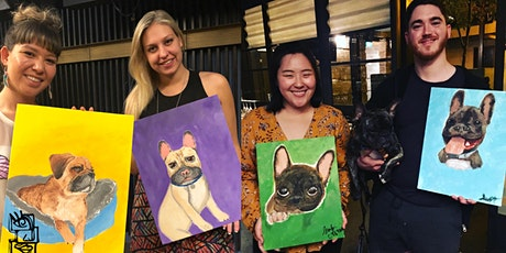 Paint And Sip: Paint Your Dog | Melbourne Painting Class tickets