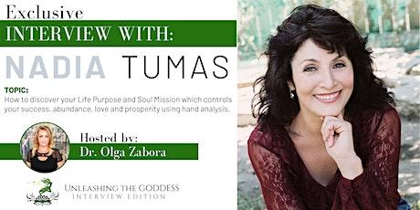 FREE- Goddess Event Exclusive Interview with Nadia Tumas - SEDONA RETREAT tickets