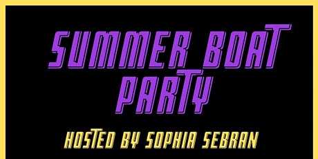 Party Boat - Graduation Celebration 2021 tickets