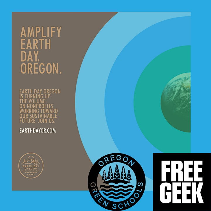 Earth Day Celebration with Oregon Green Schools and Free Geek image