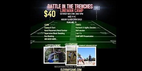 Battle in the Trenches Lineman Camp tickets