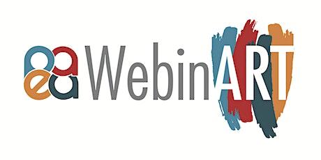 PAEA April WebinART - How to Create an ArtSteps Virtual Exhibition tickets
