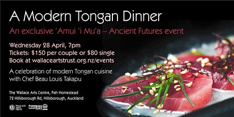 'Amui 'i Mu'a – Ancient Futures: Modern Tongan Dinner tickets