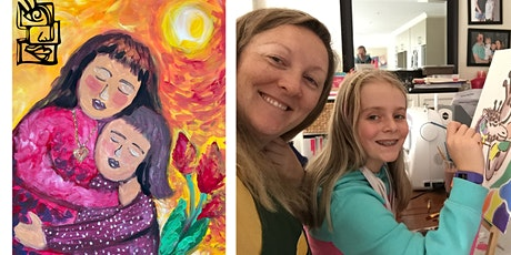 Paint and Sip Class for Mother's Day tickets