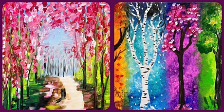ONLINE Paint and Sip Class tickets