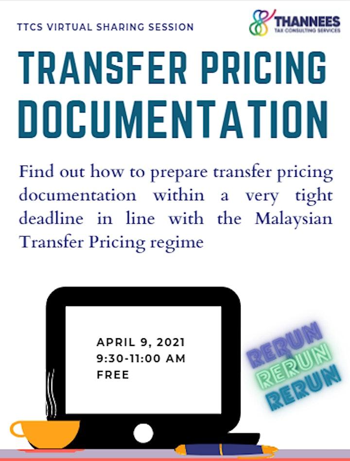 TRANSFER PRICING DOCUMENTATION (RERUN) image