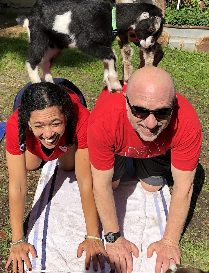 Goat Yoga with Dr.Tanya Gold image