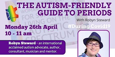 The Autism Friendly Period Guide Book with Robyn Steward tickets