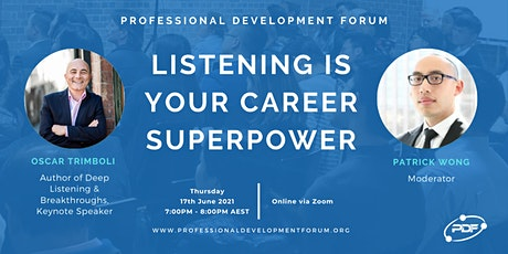 Listening Is Your Career Superpower tickets