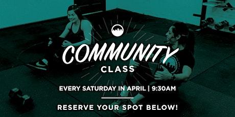 RVAPT Community Class Saturdays! tickets