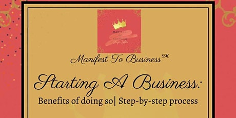 Manifest To Business ™ | Starting A Business tickets