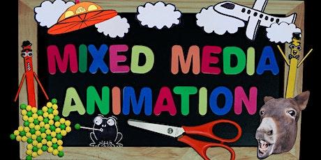 School Holiday Mixed Media Animation tickets