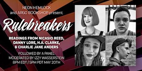 Neon Hemlock and Argo Bookshop present Rulebreakers tickets