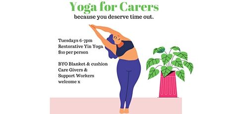 Yoga for Carers tickets