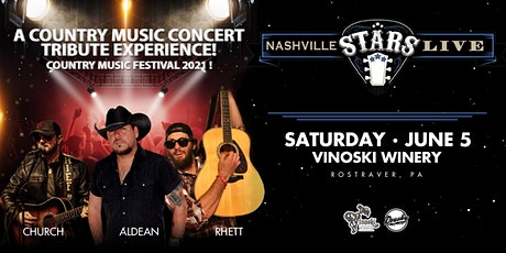 Nashville Stars Live: Jason Aldean, Eric Church & Thomas Rhett Tributes tickets