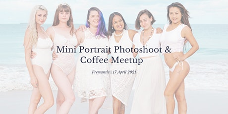 Mini Portrait Photoshoot & Coffee Meetup in Fremantle tickets