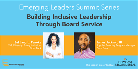 Building Inclusive Leadership through Board Service tickets