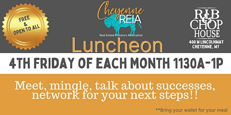 Cheyenne REIA Monthly Luncheon tickets